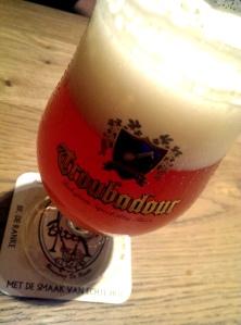 Troubadour Magma2013, met Galaxy hop. Een waardige Belgische IPA
