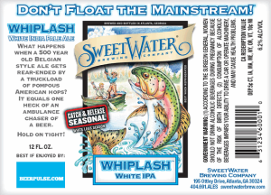 SweetWater-Whiplash-White-IPA-label