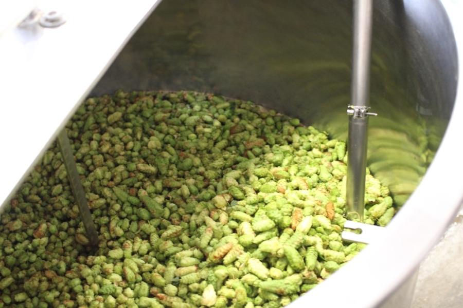 First-wort-hop-kettle